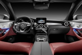 Mercedes C-Class Coupe 2016 interior
