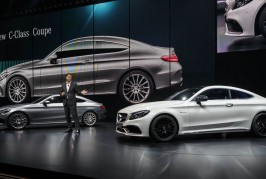 Mercedes-Benz Cars auf der IAA 2015Mercedes-Benz Cars at the IAA 2015 Ola Källenius, Member of the Board of Management of Daimler AG, Mercedes-Benz Cars Marketing & Sales presents the new C-Class C-Class Coupé