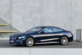 Mercedes S-Class Coupe 2016