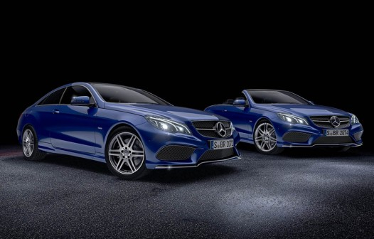 Mercedes Unveils New Special Editions For E-Class Coupe & Cabriolet