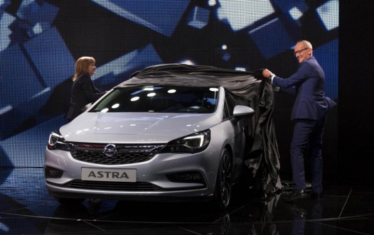 Opel Astra making its world premiere at 2015 IAA