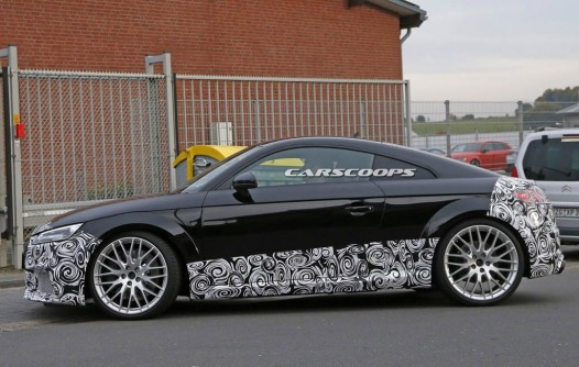 2017 Audi TT RS Spy-photo