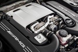 2017 Mercedes-AMG C63 coupe engine