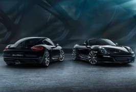 Cayman and Boxter Black Edition