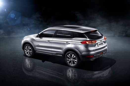 Geely Bo Yue SUV 2016