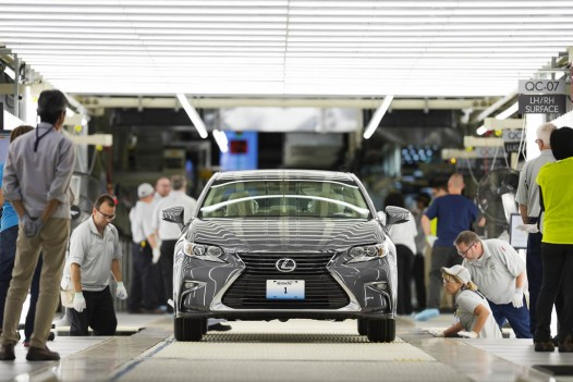 2016 ES 350 Is Lexus' First US-Built
