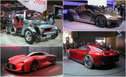 Must-See Vehicles from the 2015 Tokyo Motor Show