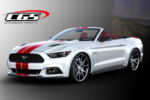CGS Performance Ford Mustang Convertible
