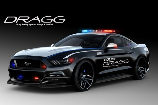 DRAGG Ford Mustang