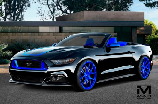 Ford Mustang GT Convertible by Mad Industries