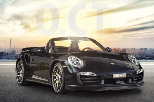 Porsche 911 Turbo S Cabrio powered by O.CT Tuning