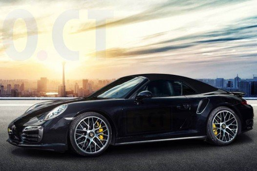 Porsche 911 Turbo powered by O.CT Tuning