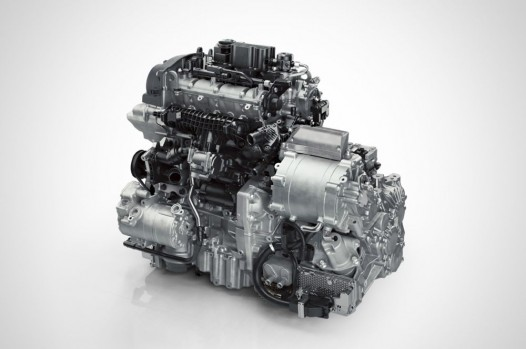 volvo drive-e 3-cylinder hybrid power pack
