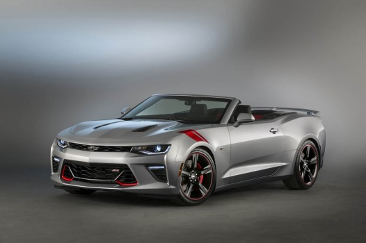 2015 Camaro SS convertible Red Accent