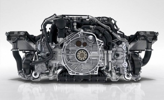 The new 911 engine went through a drop test
