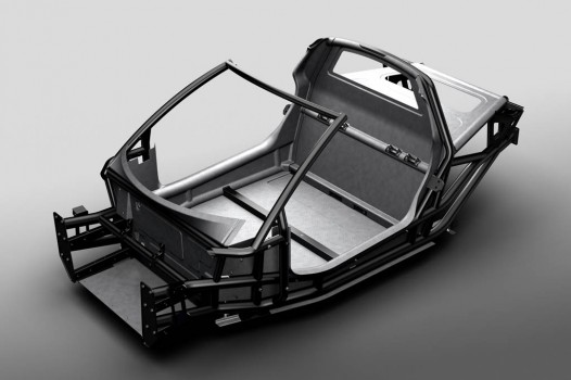 Gordon Murray iStream Carbon chassis