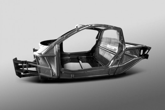 Gordon Murray New iStream Carbon chassis