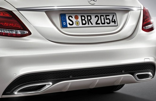 Mercedes-Benz's Fake Exhaust Tips