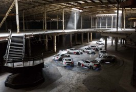 Nissan 370Z Drifting Abandoned Mall