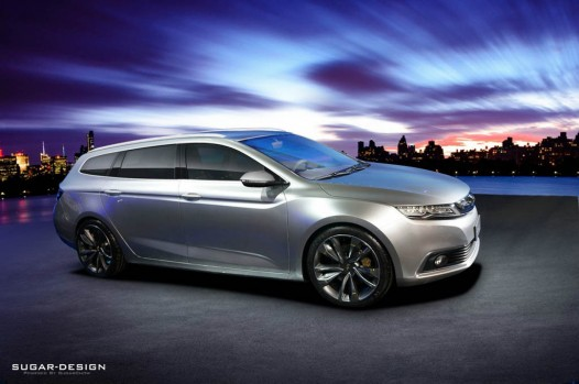 geely shooting brake concept