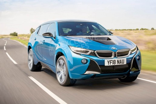 BMW i5 SUV Rendered