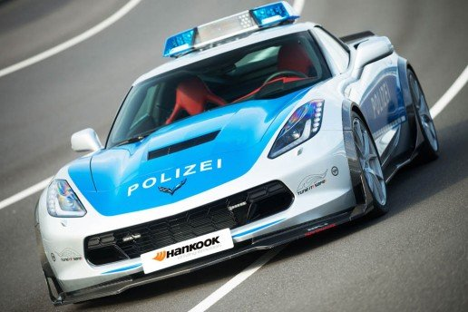 Corvette C7 Stingray Police Vehicle
