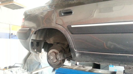Replace Citroen Xantia Brake