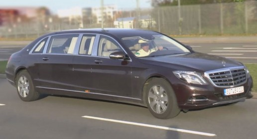 New Mercedes-Maybach S600 Pullman