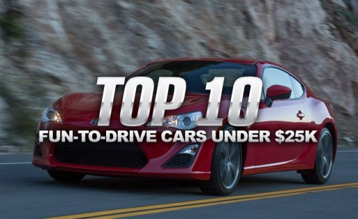 Top 10 Most Fun-to-Drive Cars Under $25,000