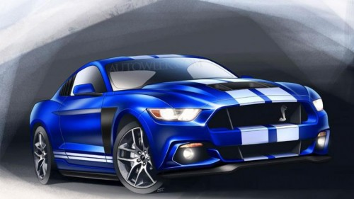 2016 Ford Mustang GT500 GT350 SVO or SVT Rendering