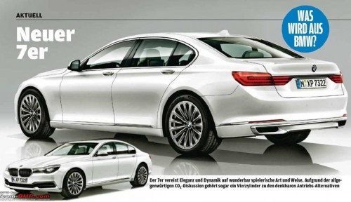 2016 BMW series 7 rendering