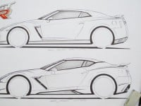2016 Nissan GT-R Sketches