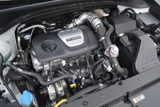 2016 Hyundai Tucson Eco engine