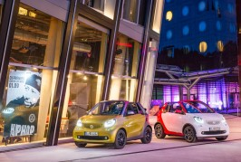 2017 Smart Fortwo cabriolets