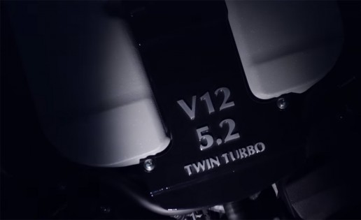 Aston Martin's New V-12 Twin Turbo Engine