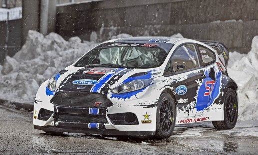 Ford Fiesta ST rally car