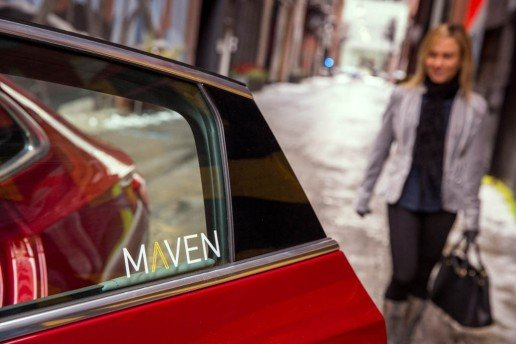 GM Maven Car-Sharing Service