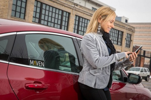 GM Launches Maven Car-Sharing Service