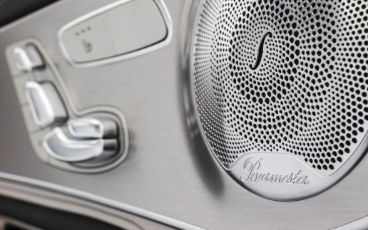 Mercedes-Benz S-Class Burmester High-End 3D Surround Sound System