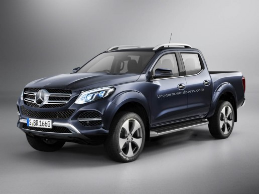 Mercedes-Benz pick-up Render