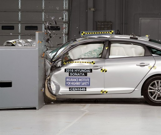 Hyundai Sonata Earns IIHS Top Safety Pick+ Award