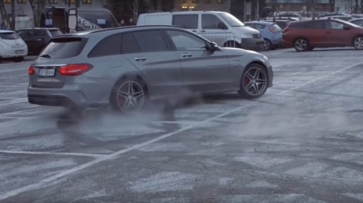 Video-Petter-Solberg-is-a-fake-82-year-old-pranking-Mercedes-technicians