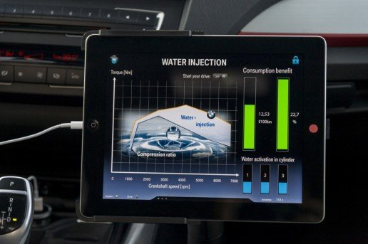 bmw with direct water injection