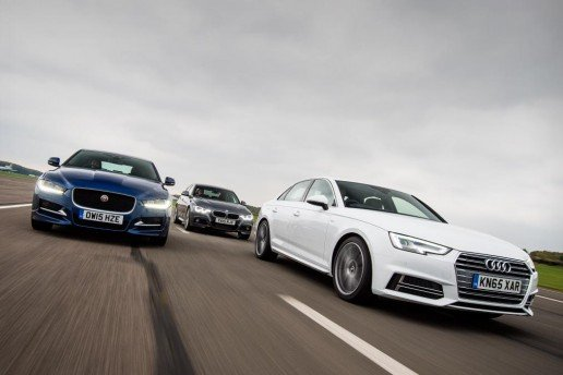 Audi A4 vs Jaguar XE & BMW 3 Series