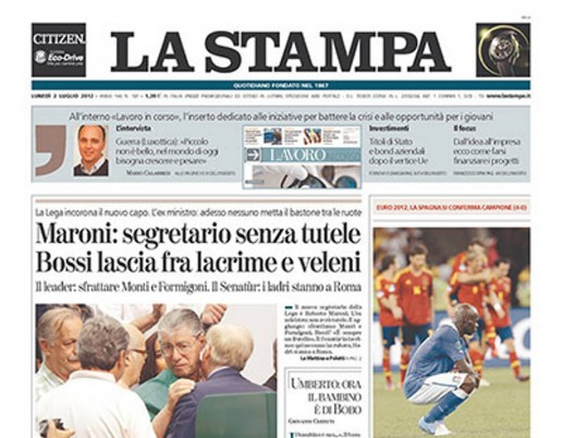 La Stampa Italy