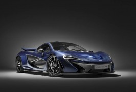 McLaren P1 carbon fiber tribute