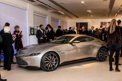 Aston-martin db10 auction at christies in london