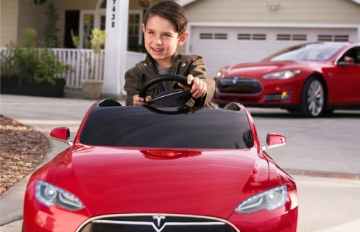 Tesla Model S Electric Toy Car