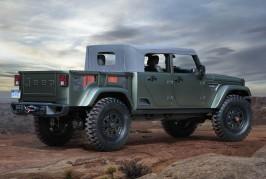 Jeepآ® Crew Chief 715 Concept
