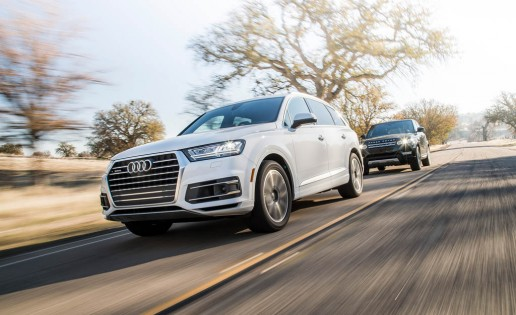 2017 Audi Q7 3.0T and 2015 Land Rover Range Rover Sport HSE
